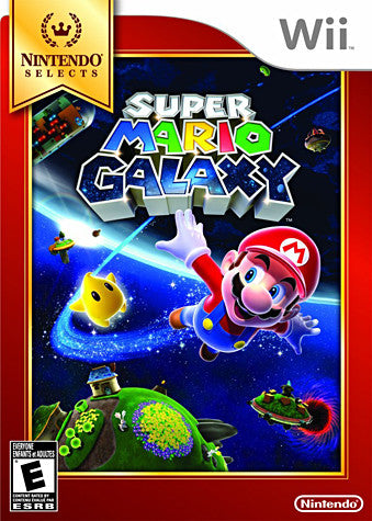 Super Mario Galaxy (Trilingual Cover) (NINTENDO WII) NINTENDO WII Game
