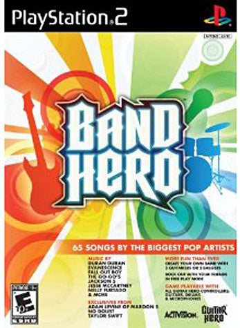 Band Hero (PLAYSTATION2) PLAYSTATION2 Game