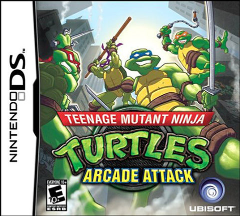 Teenage Mutant Ninja Turtles - Arcade Attack (DS) DS Game