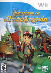 Island of Dr. Frankenstein (Bilingual Cover) (NINTENDO WII)