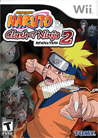 Naruto - Clash Of Ninja Revolution 2 (NINTENDO WII) NINTENDO WII Game