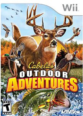 Cabela's Outdoor Adventures 2010 (NINTENDO WII) NINTENDO WII Game
