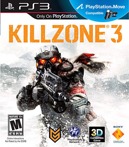 Killzone 3 (Playstation Move) (Bilingual Cover) (PLAYSTATION3) PLAYSTATION3 Game