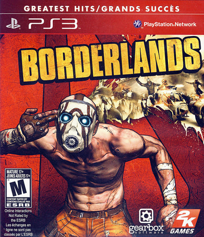Borderlands (Bilingual Cover) (PLAYSTATION3) PLAYSTATION3 Game