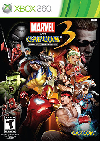 Marvel vs. Capcom 3 - Fate of Two Worlds (XBOX360) XBOX360 Game