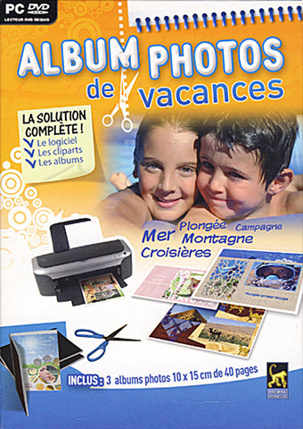 Album Photos de Vacances (French Version Only) (PC) PC Game