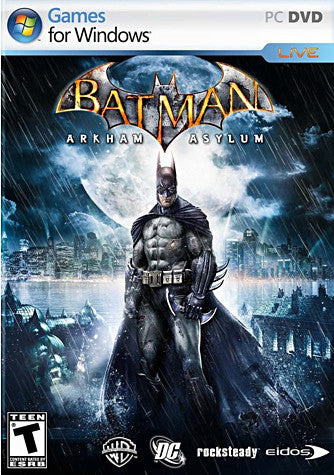 Batman - Arkham Asylum (French Version Only) (PC) PC Game
