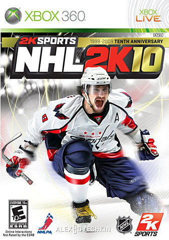 NHL 2K10 (XBOX360) (USED) XBOX360 Game