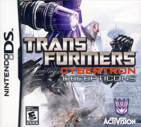 Transformers - War for Cybertron Decepticons (DS) DS Game