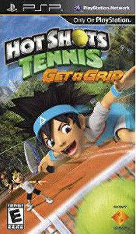 Hot Shots Tennis - Get a Grip (PSP) PSP Game
