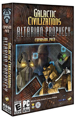 Galactic Civilizations - Altarian Prophecy Expansion Pack (PC) PC Game