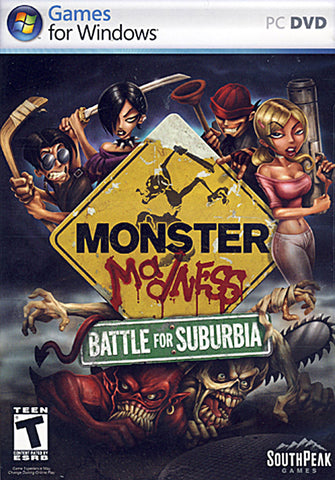 Monster Madness: Battle for Suburbia (Limit 1 copy per client) (PC) PC Game