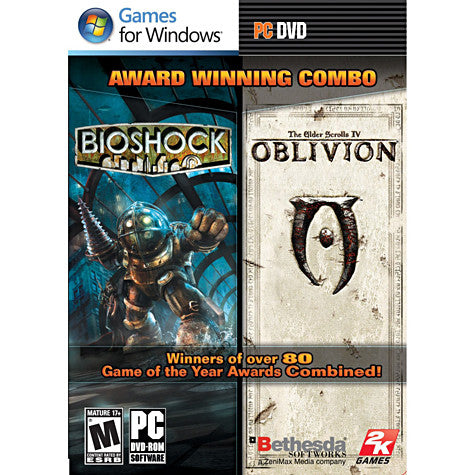 Bioshock & The Elder Scrolls IV - Oblivion Bundle (PC) PC Game