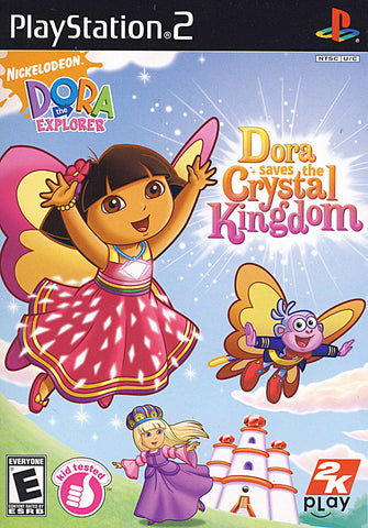 Dora the Explorer - Dora Saves the Crystal Kingdom (Limit 1 copy per client) (PLAYSTATION2) PLAYSTATION2 Game