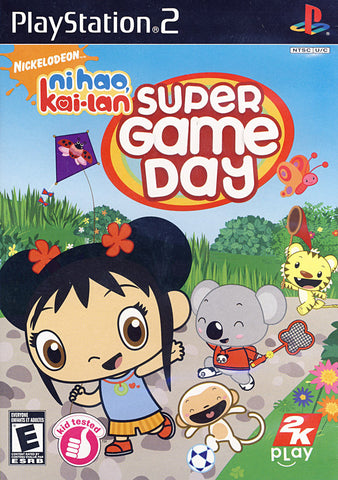 Ni Hao, Kai-Lan - Super Game Day (Bilingual Cover) (PLAYSTATION2) PLAYSTATION2 Game