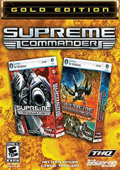 Supreme Commander - Gold Edition (French and English Version) (PC)