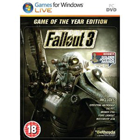 Fallout 3 - Game of The Year Edition (French Version Only) (PC) PC Game
