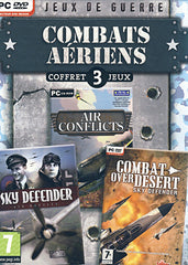 Coffret 3 Jeux Combats Aeriens (Air conflicts / Sky Defender / Combat Over Desert) (French Version O (PC)