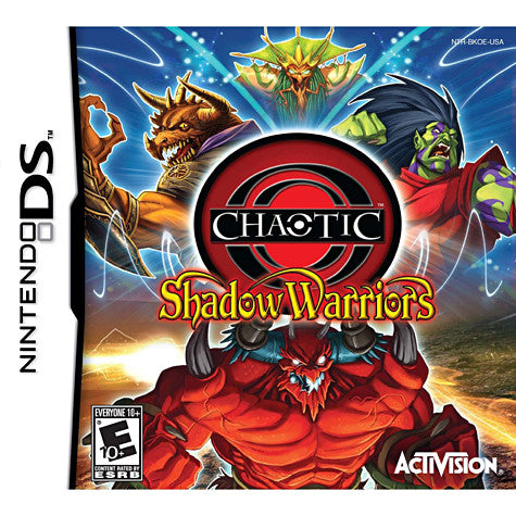 Chaotic - Shadow Warriors (DS) DS Game