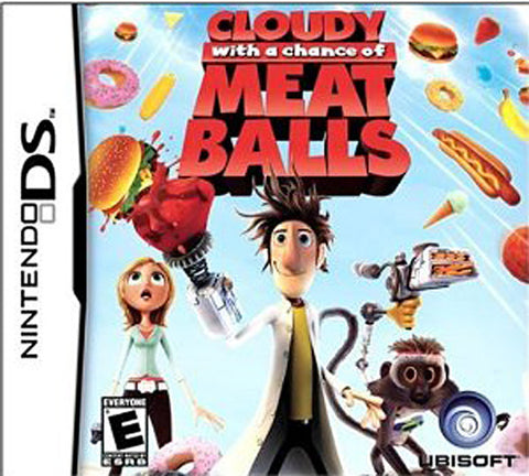 Cloudy With A Chance Of Meatballs (DS) DS Game