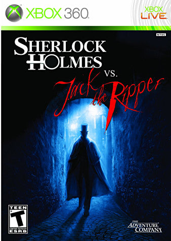 Sherlock Holmes vs. Jack the Ripper (XBOX360) XBOX360 Game