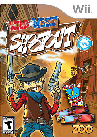 Wild West Shootout (Bilingual Cover) (NINTENDO WII) NINTENDO WII Game
