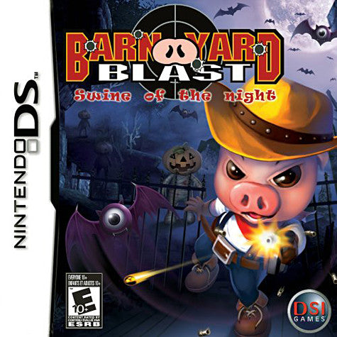 Barnyard Blast - Swine Of The Night (DS) DS Game
