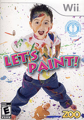 Let's Paint (NINTENDO WII)