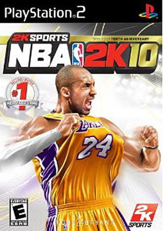 NBA 2K10 (Limit 1 copy per client) (PLAYSTATION2) PLAYSTATION2 Game