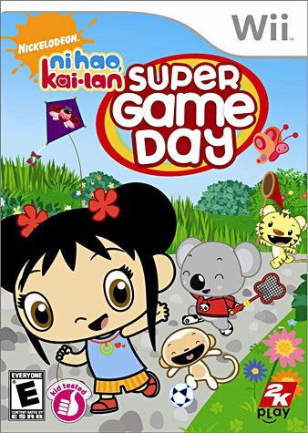 Ni Hao, Kai-Lan - Super Game Day (NINTENDO WII) NINTENDO WII Game