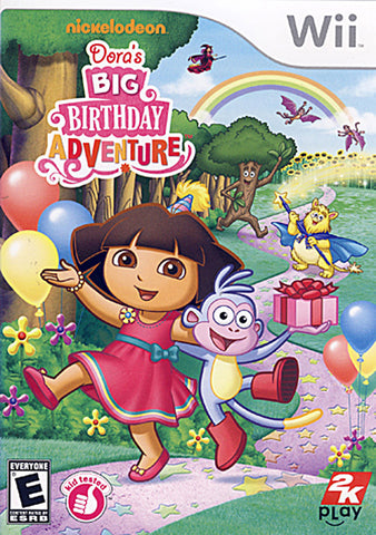 Dora the Explorer - Dora's Big Birthday Adventure (NINTENDO WII) NINTENDO WII Game