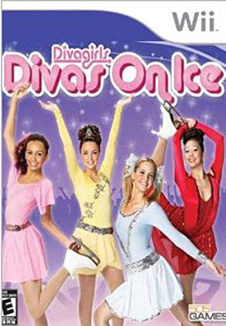 Diva Girl - Divas on Ice (NINTENDO WII) NINTENDO WII Game