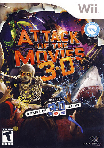 Attack Of The Movies 3D (NINTENDO WII) NINTENDO WII Game