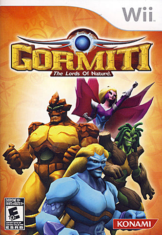 Gormiti - The Lords of Nature! (NINTENDO WII) NINTENDO WII Game