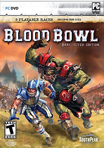Blood Bowl - Dark Elves Edition (Limit 1 per Client) (PC) PC Game