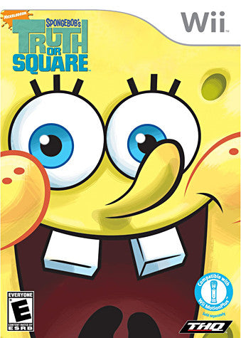 SpongeBob's Truth or Square (NINTENDO WII) NINTENDO WII Game