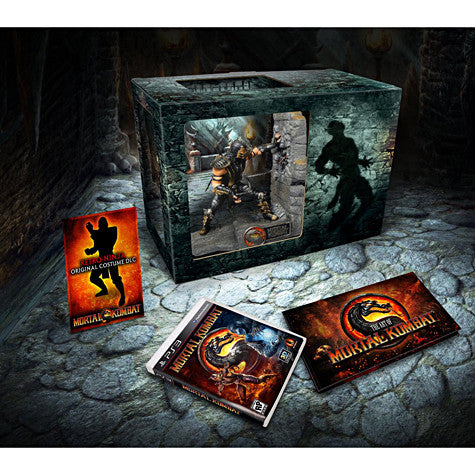 Mortal Kombat - Kollector's Edition (PLAYSTATION3) PLAYSTATION3 Game