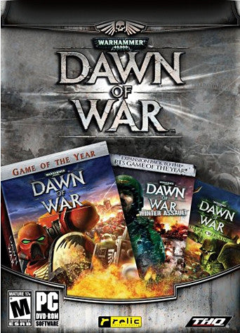 Warhammer 40,000: Pack (Includes Dawn of War Gold Edition and Dark Crusade Expansion Pack) (PC) PC Game