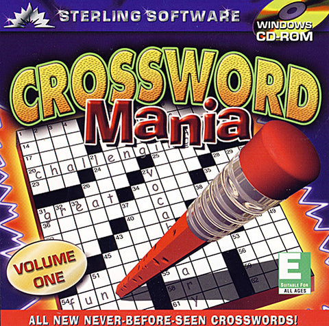 Crossword Mania - Volume 1 (PC) PC Game
