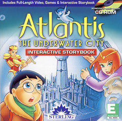 Atlantis - The Underwater City,Interactive Storybook (Jewel Case) (PC)