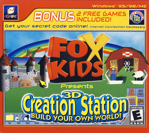 Fox Kids Presents 3D Creation Station (Jewel Case) (PC) PC Game