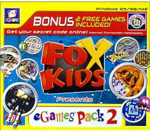 Fox Kids Presents eGames Fun Pack #2 (Jewel Case) (PC) PC Game