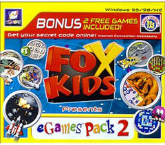 Fox Kids Presents eGames Fun Pack #2 (Jewel Case) (PC)