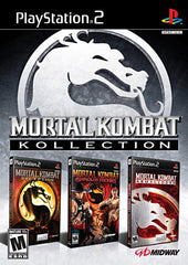Mortal Kombat Kollection (Deception, Armageddon, Shaolin Monks) (PLAYSTATION2)