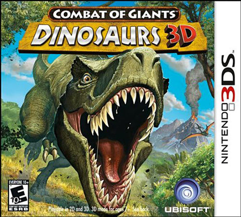 Combat of Giants - Dinosaurs 3D (3DS) (3DS) 3DS Game