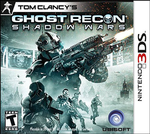 Tom Clancy's Ghost Recon Shadow Wars (3DS) (3DS) 3DS Game