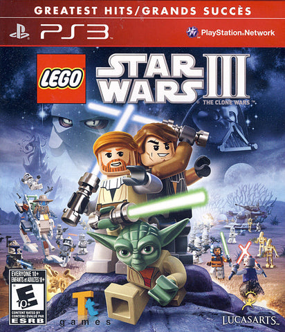 LEGO Star Wars III - The Clone Wars (Bilingual) (PLAYSTATION3) PLAYSTATION3 Game