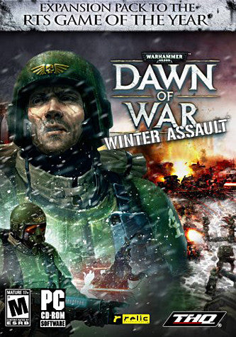 Warhammer 40,000 Dawn of War - Winter Assault Expansion Pack (PC) PC Game