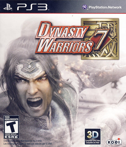 Dynasty Warriors 7 (Bilingual Cover) (PLAYSTATION3) PLAYSTATION3 Game