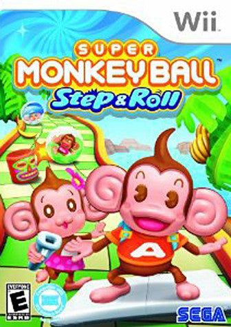 Super Monkey Ball - Step & Roll (NINTENDO WII) NINTENDO WII Game